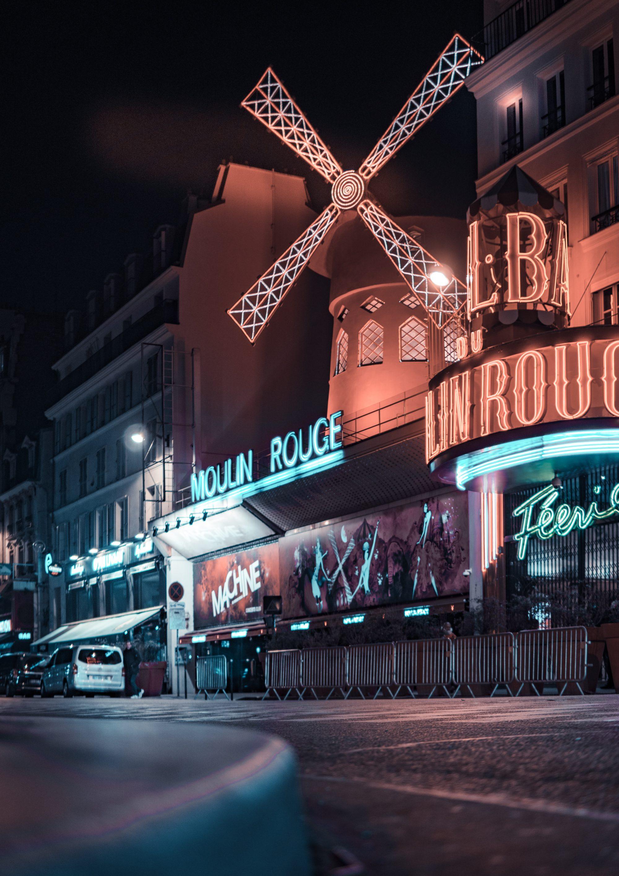 Parijs wandeling Montmartre de Nuit